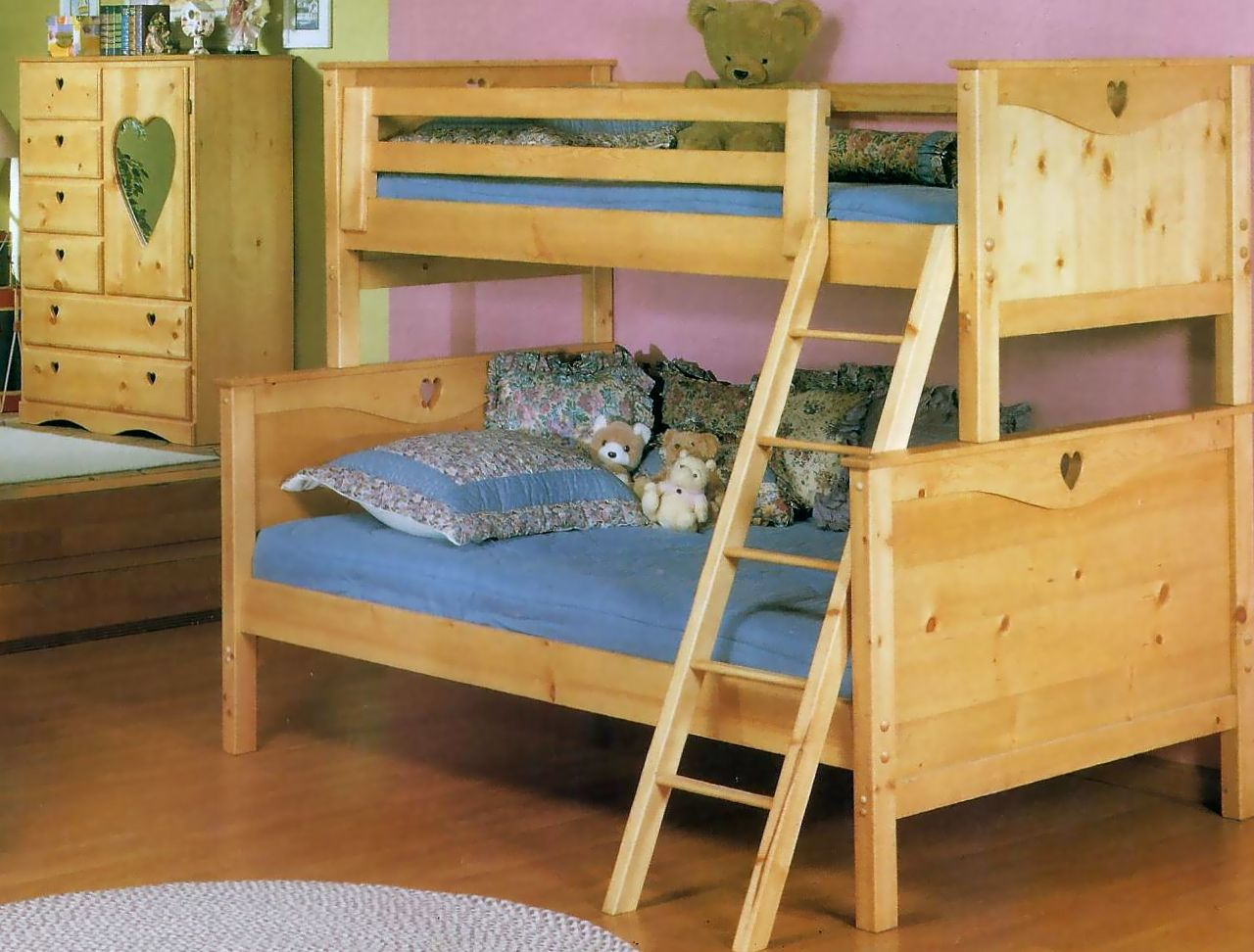 013 twin twin panel bed bunk bed