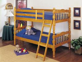 02301 Twin/Twin Bunk Bed