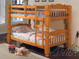 02575 4.5 Post Twin/ Twin Bunk Bed