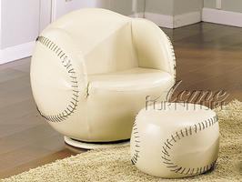 05528 Baseball Swivel Chair