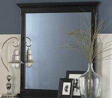 1356BK-6 Morelle Collection Mirror in Black