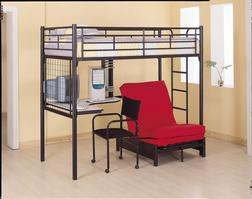 2335M Bunk Bed Fouton Matress - Bunk Bed Sold Seperately