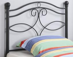450102T Metal Twin Headboard