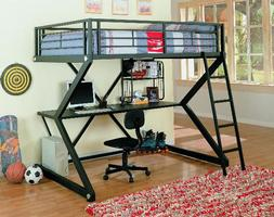 460092 Full Loft Bunk Bed