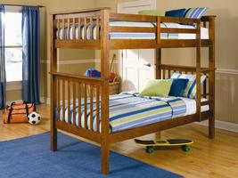 460163 Twin over Twin Bunk Bed