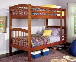 460173 Twin over Twin Bunk Bed