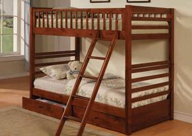 460193 Twin over Twin Bunk Bed