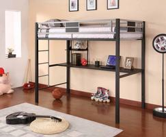 460197 Twin Loft Bunk Bed