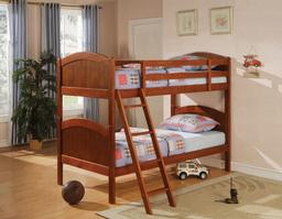 460203 Twin over Twin Bunk Bed