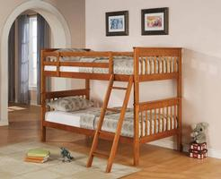 460233 Twin over Twin Bunk Bed