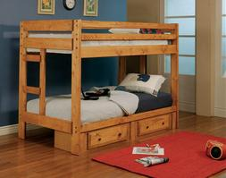 460243 Twin over Twin Bed - Underbed Storage Sold Seperately