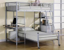 7499 Metal Loft Bunk Bed