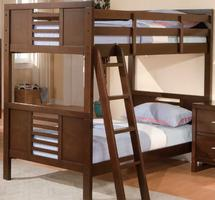 B1353-1 Tove Collection Twin over Twin Bunk Bed