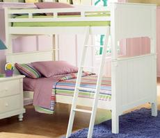 B875W-1 Pottery Collection Twin over Twin Bunk Bed