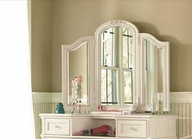 136A031 Gabriella Collection Dressing Mirror - Dimensions: 45W x 4D x 36H