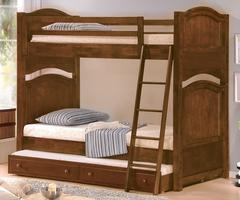 B1422-1 Aris Collection Twin over Twin Bunk Bed