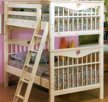 011 TWIN TWIN Heart bunk