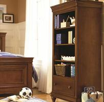 1311018 Classics 4.0 Saddle Brown Collection Bookcase - Dimensions: 32W x 18D x 61H